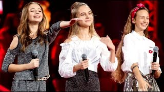 Anna Dąbrowska, Gabrysia Jeleń, Anna Rom - I Wanna Dance With Somebody - Bitwy The Voice Kids