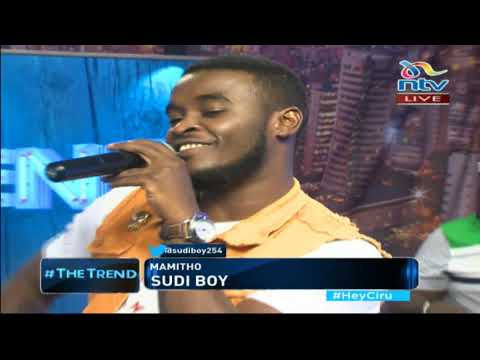 Sudi Boy lauching his new single Mamito on #theTrend