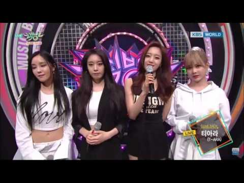 170616 T-ara interview on Music Bank