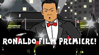 RONALDO MOVIE PREMIERE PARODY - red carpet (Cristiano documentary film trailer 2015)