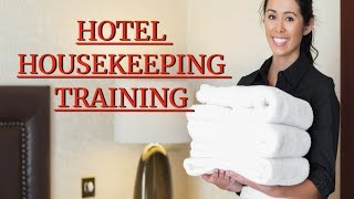 Housekeeping  Training Video II Housekeeping Department & Its Sub Departments.