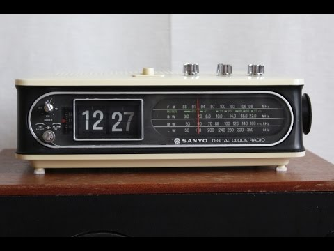 Sanyo RM8400 Digital Clock Radio
