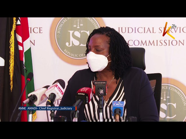Kenya's next CJ: Vetting process to begin Monday