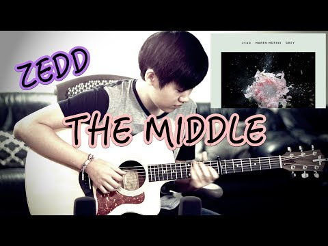 Cover Lagu Zedd, Maren Morris, Grey - The Middle (Fingerstyle Guitar Cover by Harry Cho) STAFABAND