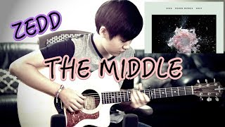 Download Lagu Zedd, Maren Morris, Grey - The Middle (Fingerstyle Guitar Cover by Harry Cho) Mp3