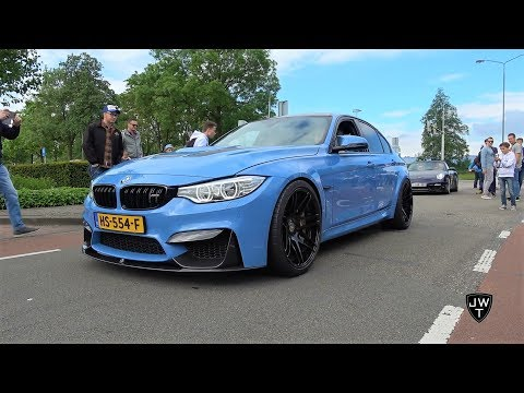 LOUD Modified BMW M3 F80 w/ Custom 3D Design Exhaust System! SOUNDS!
