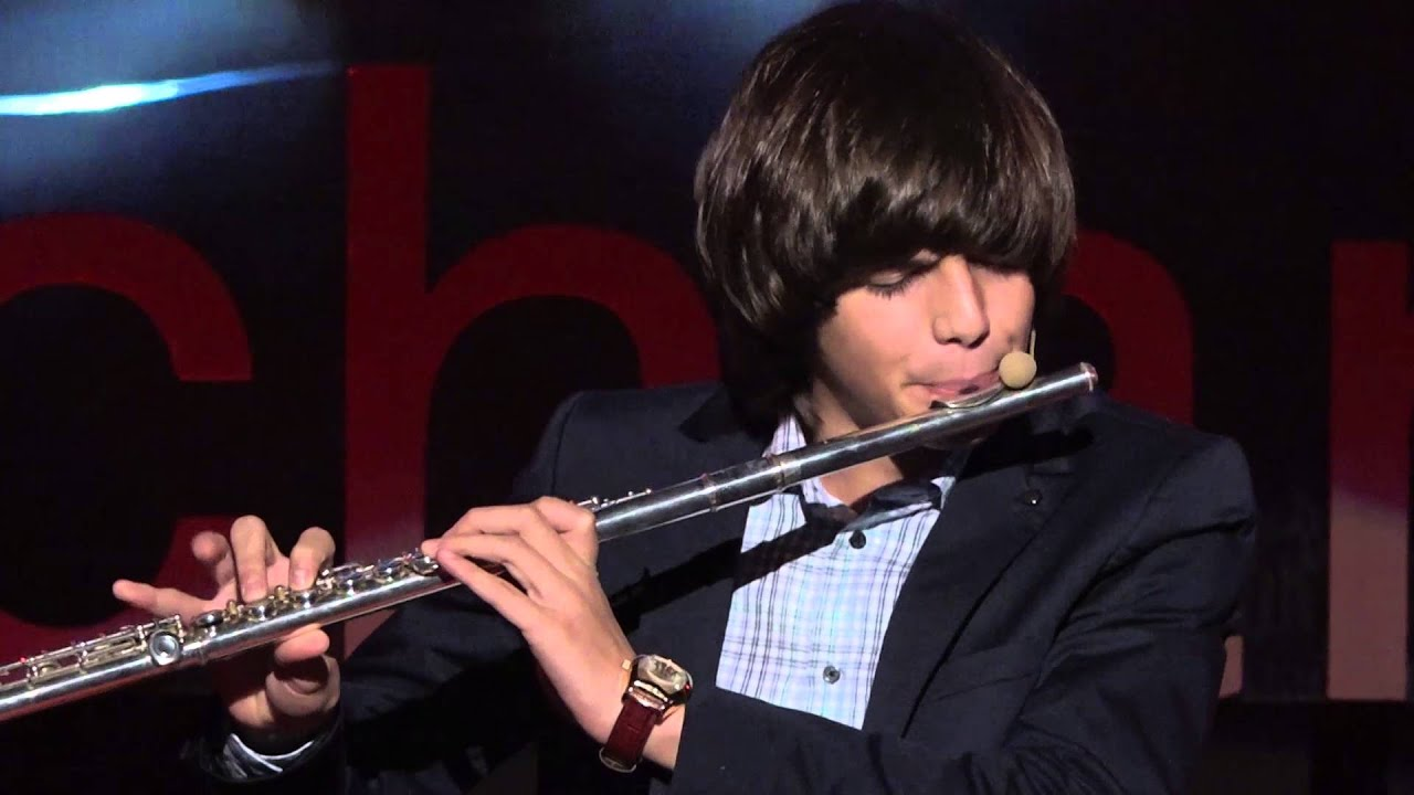 Flute Beatboxing Performance | Cosmin Cioca | TEDxBucharest