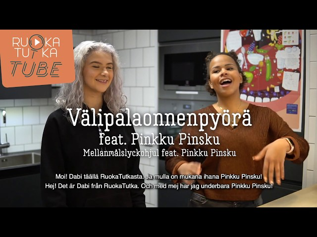 Thumbnail of video called Välipalaonnenpyörä feat. Pinkku Pinsku