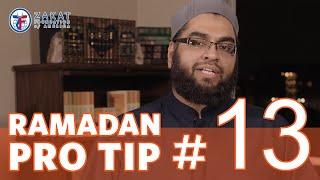 Ramadan Pro Tip #13 (Family First) with Abdul Nasir Jangda