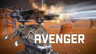 War Robots AVENGER 🔥 punish them heavily | WR NEW WEAPON update 4.0