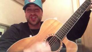Staring At The Sun by Jason Aldean (Sam Grow Acoustic Cover)