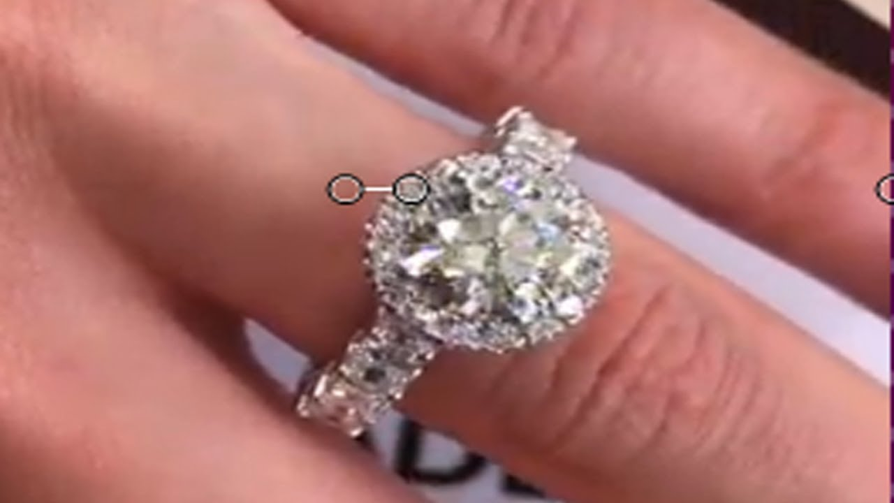 Beautiful Diamond Engagement Ring ! - YouTube