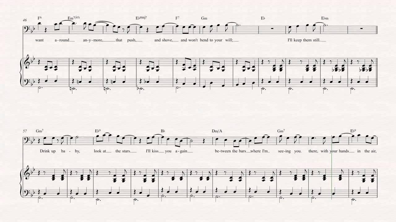 Euphonium Between The Bars Elliott Smith Sheet Music Chords