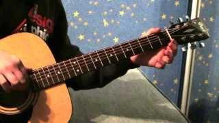 (Кравц обнуляй) видио урок игры на гитаре