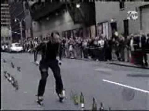 Video trượt patin chơi nhạc