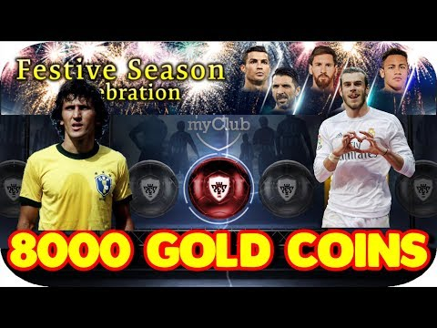 FESTIVE SEASON BOX DRAW 32 TIMES (8000 Gold Coins Spree) in PES 2018 MOBILE | ZICO & BALE | Part 2