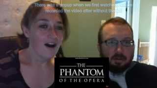 The Better Halves react to Phantom of the Opera - Voiceplay ft .Rachel Potter