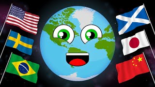 Download Mp3 Countries Of The World With Flags/countries Of The World Song Gudang lagu