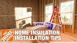 Home Insulation: Attic, Wall & Basement Installation Tips | The Home Depot