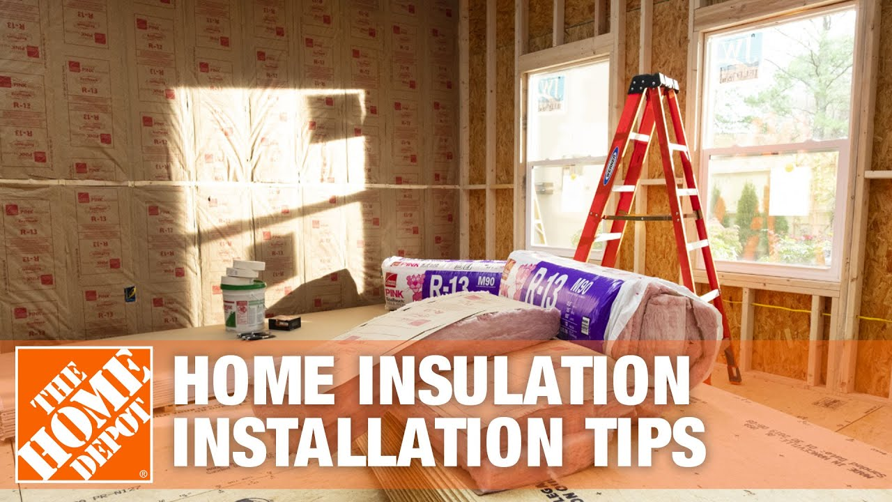 Home Insulation Attic Wall Basement Installation Tips Youtube Electrical Wiring Canada