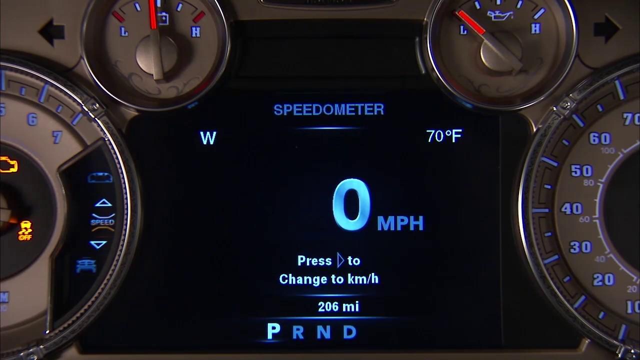Custom Ram 1500 >> Instrument Cluster Display-Digital dashboard on the car ...