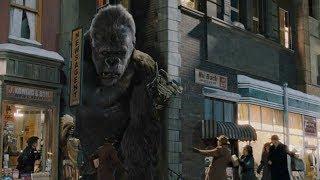 """Кинг-Конг вырвался в город - """"Кинг-Конг"""" отрывок из фильма"""