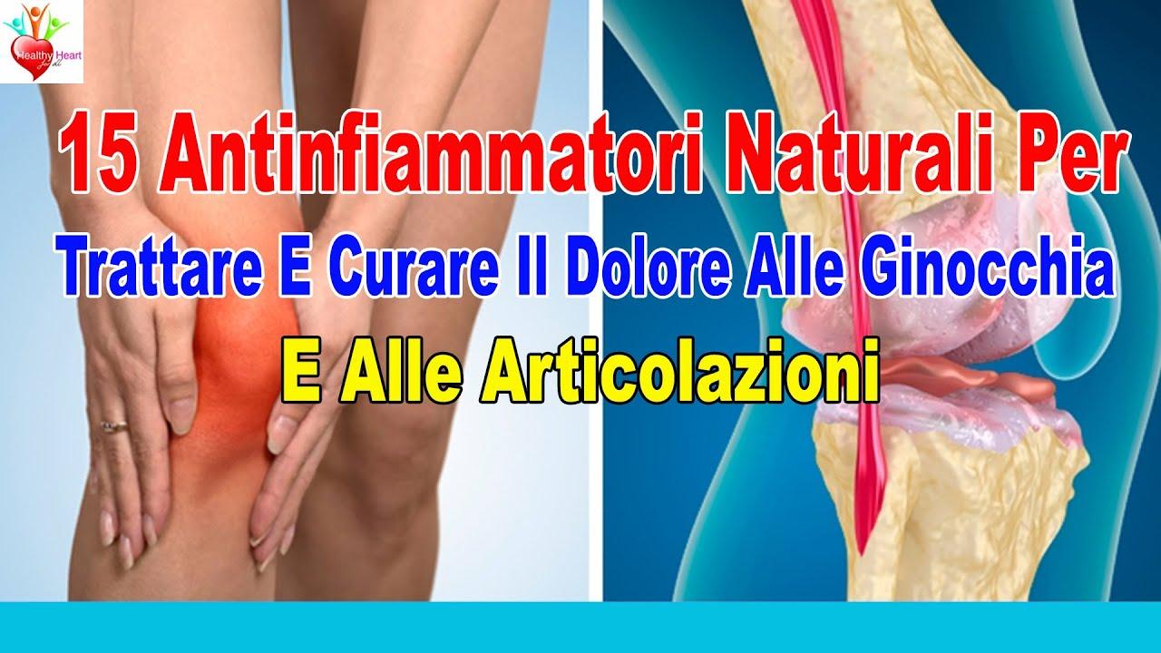 15 antinfiammatori naturali per trattare e curare il dolore alle ginocchia e alle articolazioni