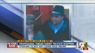 Professional thieves target Tri-State shoppers
