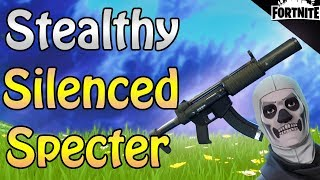 FORTNITE - PL 130 Silenced Specter Gameplay (How To Be Stealthy In Save The World)