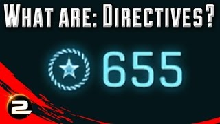 What are: Directives? (PlanetSide 2 Gameplay)