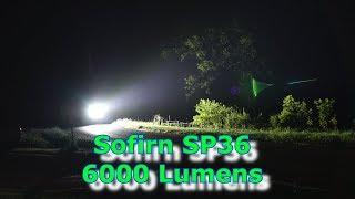 The Sofirn SP36 6000 Lumen High Powered Flashlight