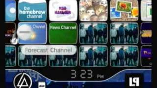 Custom Wii Menu - Linkin Park