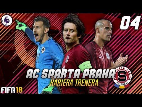 FIFA 18 CZ | Kariéra za SPARTU PRAHA | #04 | Evropská Liga a šance pro Lafatu!