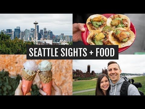Our favorite Seattle sights + food | Last weekend living in Seattle :(