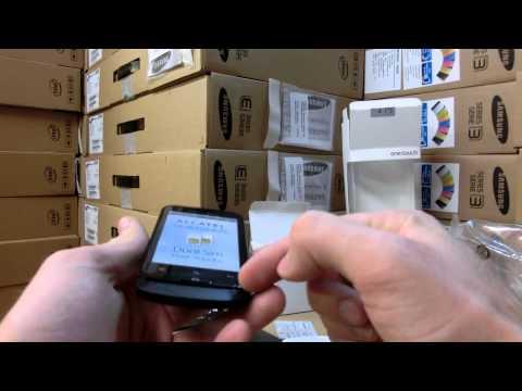 Alcatel One Touch MIX 918D Dual Sim Smartphone im Unboxing [DE]