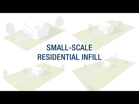 Small-Scale Residential Infill