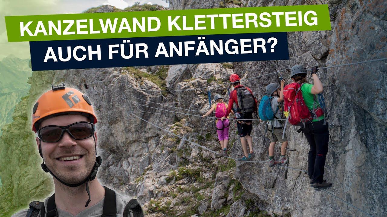 Klettersteig Kanzelwand : Kanzelwand klettersteig walsersteig hd youtube