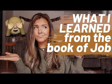 STUDY THE BIBLE WITH ME...The book of Job