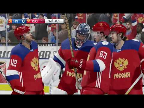 World Cup of Hockey 2016 Game Highlights Finland vs Russia (EA NHL 17)