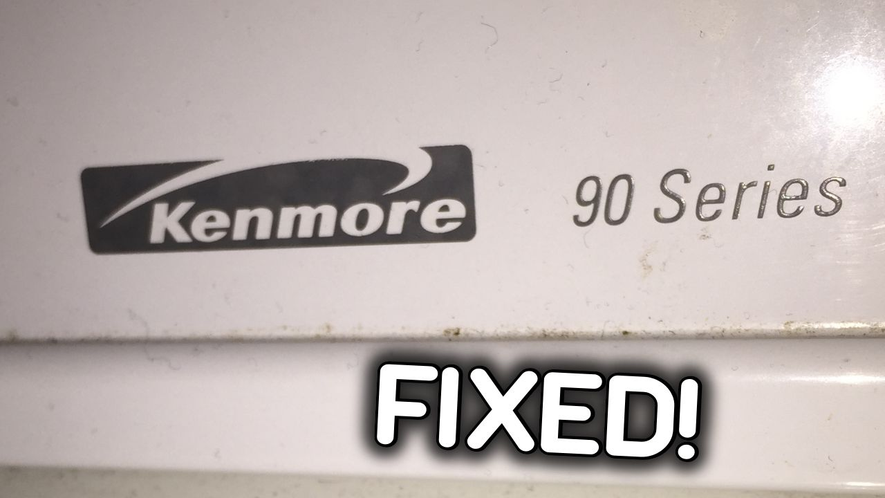 Fixed Kenmore 90 Dryer No Heat