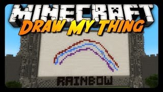 Minecraft more draw my thing w antvenom friends mini game