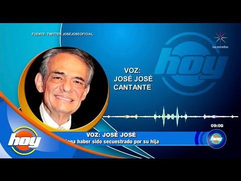 José José niega estar secuestrado por su hija Sarita | Hoy