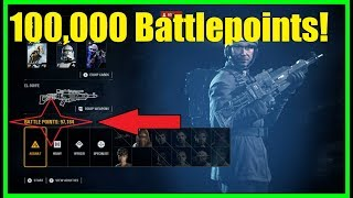 Star Wars Battlefront 2 - How to get 100,000 Battlepoints in one game! Easy BP trick! (Crait guide)