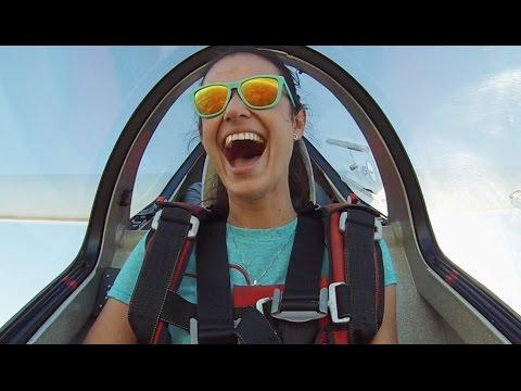 Veronika Glider Aerobatics with Sasha Marvin