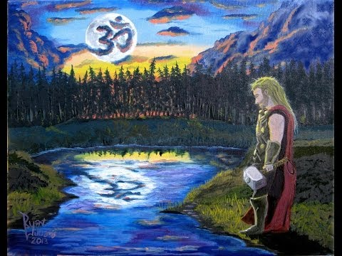 Ep. 16: Oil Painting of Thor –  by Ryan G. Williams