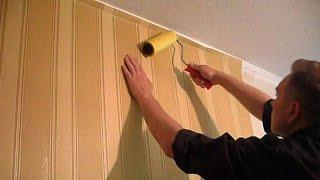 █ Как клеить обои на стены, (углы, арки, соединения и подрезка).(, 2014-07-27T11:22:57.000Z)