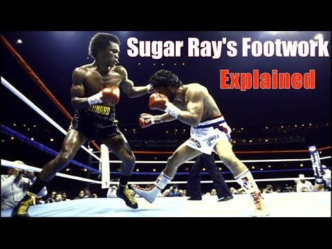 Sugar Ray Leonards' Genius Footwork Explained - Technique Breakdown