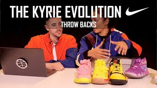 ¿CON QUÉ KYRIE TE QUEDAS? - THROW BACKS