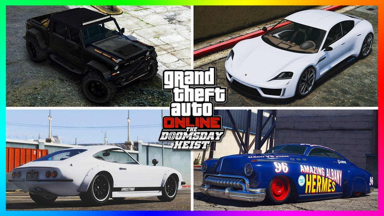 TOP 10 MUST BUY Vehicles From The Doomsday Heist DLC/Festive ...