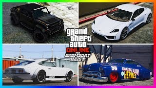 TOP 10 MUST BUY Vehicles From The Doomsday Heist DLC/Festive Surprise 2017 Update In GTA Online!